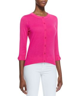 Womens somerset button down cardigan, bougainvillea   kate spade new york