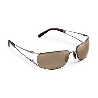 MAUI JIM KUKUNA 353 H353 23 METALLIC GLOSS COPPER METAL HCL BRONZE POLARIZED RIMLESS SUNGLASSES SHADES Clothing