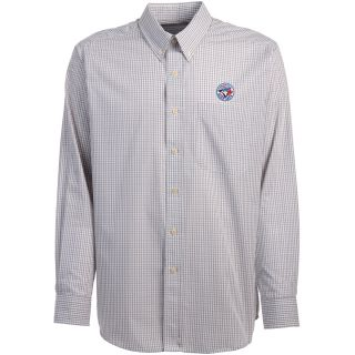 Antigua Toronto Blue Jays Mens Monarch Long Sleeve Dress Shirt   Size