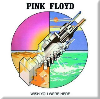 Pink Floyd Wish You Were Here (graphic) fridge magnet Music