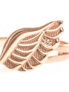 Angel Wings rose gold plated ring  Aamaya by Priyanka  MATCH
