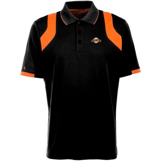 Antigua San Francisco Giants Mens Fusion Short Sleeve Polo   Size Large,