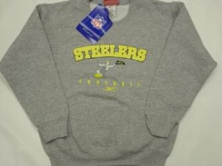 Pittsburgh Steelers 1954 Youth/Kids Grey Sweatshirt  Sports Fan Sweatshirts  Clothing