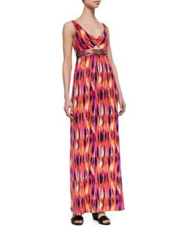 Womens Margery Printed Maxi Dress   Trina Turk   Multi (12)