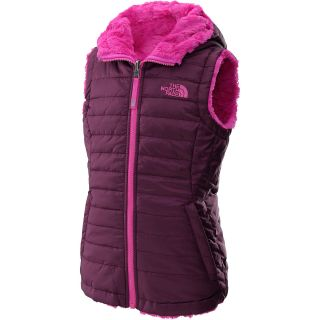 THE NORTH FACE Girls Mossbud Swirl Vest   Size L, Purple/pink