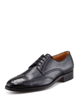 Mens Peccary Wing Tip Lace Up   Gravati   (9)