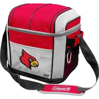 IFS   Louisville Cardinals NCAA 24 Can Soft Sided Cooler   Cold Beverage Koozies