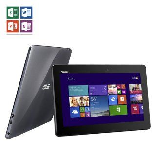 "ASUS Transformer Book T100TA H1 GR 10.1"" Detachable 2 in 1 Touchscreen Laptop, 32GB + 500GB  Computers & Accessories"