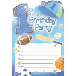 Its 20 1st Birthday party invitations Toys & Games