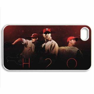 Iphone4/4s Covers philadelphia Phillies hard silicone case Cell Phones & Accessories