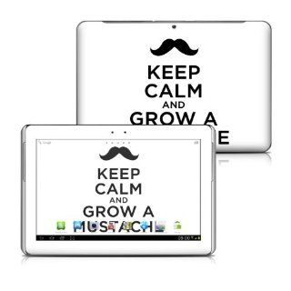 Keep Calm   Mustache Design Protective Decal Skin Sticker for Samsung Galaxy Tab 2 (10.1 inch) P5100 Tablet Computers & Accessories