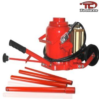 Tooluxe 50 Ton Heavy Duty Air Hydraulic Bottle Jack