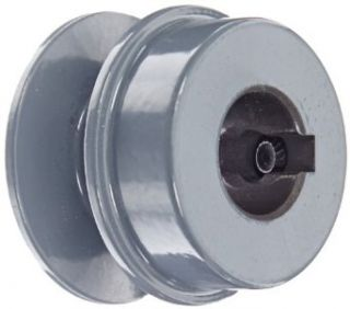 "Gates AK15 Light Duty Solid Sheaves, AK Type, 1.5"" OD, 1 Groove, 5/8"" Bore V Belt Pulleys"
