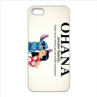 FashionCaseOutlet Ohana Means Family Lilo and Stitch Accessories TPU Cases Accessories for Apple Iphone 5 Cell Phones & Accessories