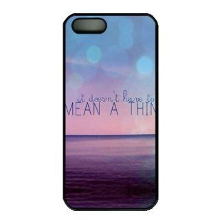 custom DIY Iphone 5S case, MEAN A THIN diy Iphone 13S case Cell Phones & Accessories
