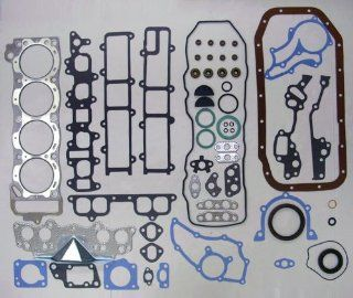 83 84 Toyota Pickup 22R/22RE 2.4L 2366cc L4 8V SOHC Engine Full Gasket Replacement Kit Set (FelPro HS8807PT 1, CS8807) Automotive