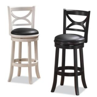 Boraam Florence 24 in. Swivel Counter Stool   Bar Stools