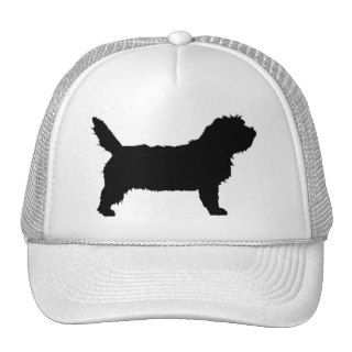 PBGV Dog (black) Trucker Hat
