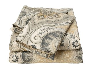 Elite Milano Paisley Collection 100 Percent Cotton Sateen 4 Piece Sheet Set Full