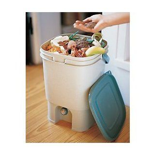 All Food Recycling Compost Kit with Bokashi   Compost Bins