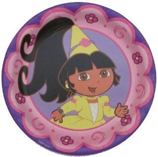 "Dora the Explorer Princess Birthday Party Supplies 7"" Dessert Plates (8) Toys & Games"