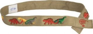 Myself Belts Baby Boys' Canvas Belt   Khaki   Extra Small Clothing