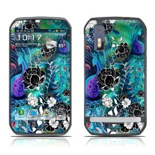 Peacock Garden Design Decorative Skin Cover Decal Sticker for Motorola Photon Cell Phone Cell Phones & Accessories