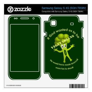 Funny Vegetarian Quote Samsung Galaxy S Skin