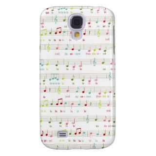 Deck the Halls Christmas Music Samsung Galaxy S4 Covers