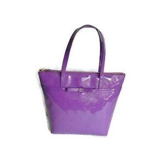 Kate Spade New York Jeralyn Camelia Street Small Tote Bag Baja Rose (Purple) Shoes