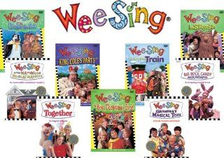 Wee Sing Complete DVD Collection (9 Discs) Various Movies & TV