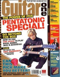 Guitar One Magazine (April 2007) (Pentatonic Special Eric Johnson) Michael Mueller Books