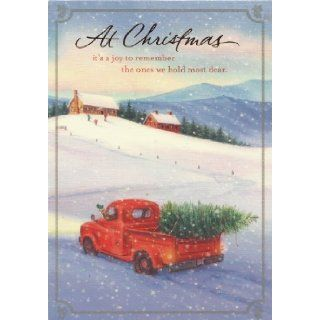 "CHRISTMAS CARDS DaySpring CHRISTIAN CONNECTIONS OLD FORD TRUCK (18 CARDS, 18 ENVELOPES) DAYSPRING, "" At Christmas it's a joy to remember teh ones we hold most dear"" inside right "" Rembering you with love always Have a Merry Christmas&q"