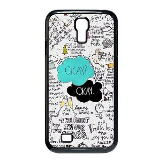 Custom Your Own Funny Okay The Fault in Our Stars  John Green SamSung Galaxy S4 I9500 Best Design Plastic Case Cell Phones & Accessories