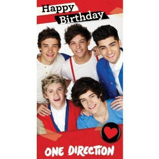 "One Direction Fold Out ""Poster"" Birthday Card Toys & Games"