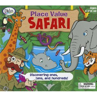 Place Value Safari Discovering Ones, Tens, and Hundreds [With 2 Six Sided Dice and 4 Safari Boards, 15 Jungle Cards, 4 Counters and Jungle Playing B