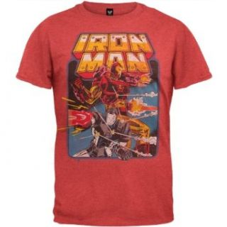 Iron Man   Battle Soft T Shirt Clothing