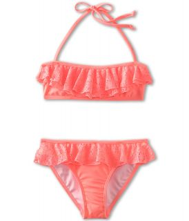 Seafolly Kids Roller Girl Mini Tube Bikini (Little Kids/Big Kids) Rio