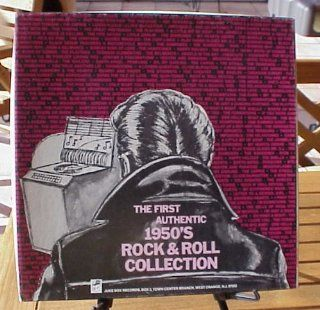 The First Authentic 1950's Rock & Roll Collection 4 Record Box Set Music