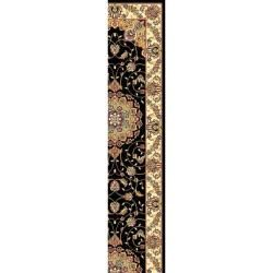 Lyndhurst Collection Traditional Black/ Ivory Runner (2' 3 x 16') Safavieh Runner Rugs