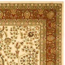 Lyndhurst Collection Oriental Ivory/ Rust Rug (5'3 x 7'6) Safavieh 5x8   6x9 Rugs