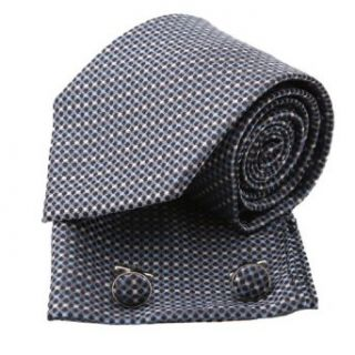 Pointe Tan/Multi Color Polka Dots Woven Silk Tie Handkerchiefs Cufflinks Set in a Gift Box at  Men�s Clothing store Neckties