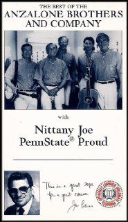 The Best of the Anzalone Brothers and Company with Nittany Joe, Penn State Proud [VHS Video] Jim Anzalone, Ange Anzalone, Reverend Don Lyon, Perry Orfanella, Carl Kohl, Angelo Yanuzzi, Don Stone Movies & TV