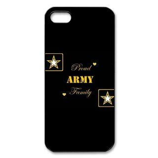 Proud Army Family iPhone 5 Case Hard Plastic iPhone 5 Case Cell Phones & Accessories
