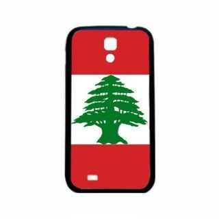 Lebanon Flag Samsung Galaxy S4 Black Silcone Case   Provides Great Protection Cell Phones & Accessories