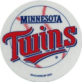 Minnesota Twins   Logo Reflective Decal Sports & Outdoors