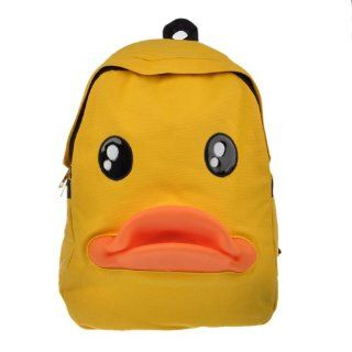 Angel Wings Women Duck 3 d Kids Teenage Schoolbag Canvas Backpack Travelling Satchel Girl Beauty