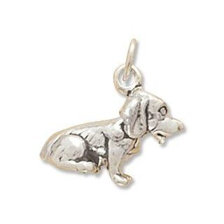 Sterling Silver Dog Breed   Beagle Charm West Coast Jewelry Jewelry