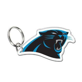 "Carolina Panthers Official NFL 3"" Key Ring Keychain by Wincraft  Sports Related Key Chains  Sports & Outdoors"