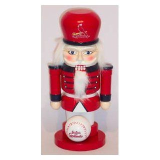 SAINT ST. LOUIS CARDINALS MLB Christmas Nut Cracker NUTCRACKER New  Sports Related Merchandise  Sports & Outdoors